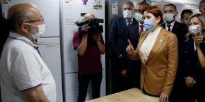 İYİ Parti Genel Başkanı Akşener Niğde'de esnafı ziyaret etti