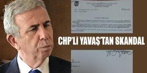 """CHP'li Mansur Yavaş yönetiminin 'resmi yazı' talimatıyla """"ihaleye fesat"""" dedirten bir SKANDALA imza attığı ortayaçıktı"""