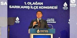 DEVA Partisi Genel Başkanı Babacan 1. Olağan Sarıkamış İlçe Kongresi'nde konuştu