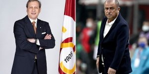 Galatasaray Kulübü Başkanı Burak Elmas, Fatih Terim'in yarın göreve başlayacağını açıkladı