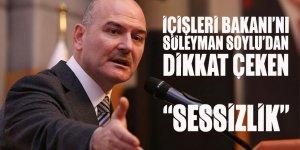 İçişleri Bakanı Soylu'dan Emniyet Müdürleri Kararnamesi ve Erdoğan'ın Sincan programı için dikkat çeken 'sessizlik'