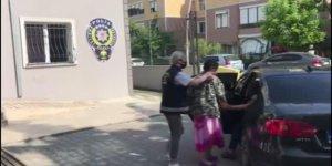 Büyükçekmece'de Türk bayrağını yırtan kişi tutuklandı