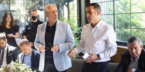 Pursaklar Emlakçılar Güç Birliği Derneği sektör temsilcilerini Mansur Yavaş ile buluşturdu