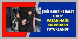 Şehit haberine halay çeken militan öğretmen tutuklandı!