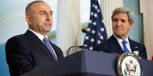 Kerry'den Çavuşoğlu'na telefon