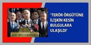 Bakan Ala: Terör örgütüne ilişkin kesin bulgulara ulaşıldı