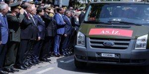 Erdoğan Şehit Üsteğmen'i böyle uğurladı
