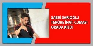 Sabri Sarıoğlu teröre inat cumayı o camide kıldı!