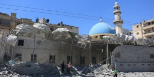 Halep'te 'dramatik' cuma namazı çağrısı