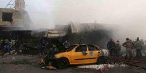 Bağdat'ta bomba yüklü araç patlatıldı! 21 ölü