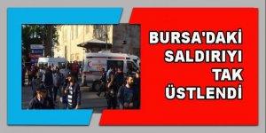 Bursa'daki saldırıyı  TAK üstlendi