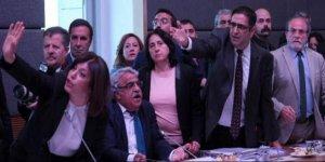 HDP'li vekiller olay çıkartıp terk ettiler