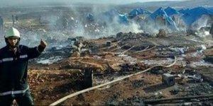 Türkiye sınırındaki sığınmacı kampı vuruldu: Onlarca ölü var