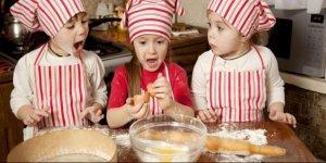 Çocuklarınıza yemek yapmayı öğretin!