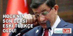 Hoca'nın son dersi Eski Türkçe oldu!