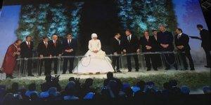 Beklenen gün geldi, yılın düğününden ilk kareler