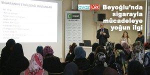 Beyoğlu'nda sigarayı bıraktırma seminerlerine ilgi büyük