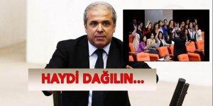 Tayyar'dan HDP'li vekillere: 'Haydi dağılın...'
