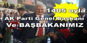 1405 oy'la AK Parti'nin yeni Genel Başkanı Binali Yıldırım