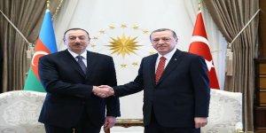 Erdoğan, Aliyev'le görüştü
