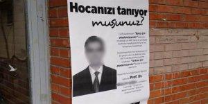 ODTÜ'de PKK'lılar, 1128 akademisyene karşı çıkan profesörü fişledi