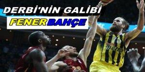 Dev derbinin galibi Fenerbahçe oldu!