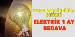 Yılda 1 ay Elektrik faturası 'bedava!'