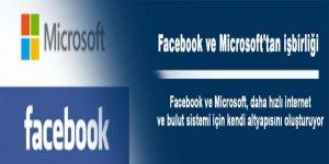 Facebook ve Microsoft'tan işbirliği