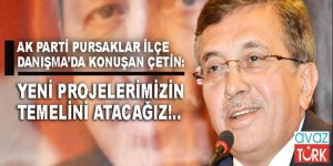 Pursaklar Belediye Başkanı Selçuk Çetin: 'Yeni projelerimizin temelini atacağız'