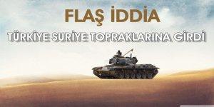 Talabani'nin internet sitesi, Türk askerinin Suriye topraklarına girdiğini iddia etti