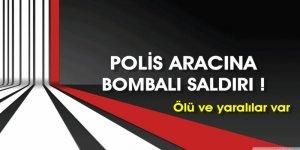 Şırnak'ta polis aracına hain saldırı