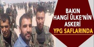 Bir ülke askeri daha YPG saflarında!