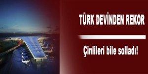 Türk devinden rekor! Çinliler'i bile solladı