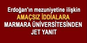 Erdoğan'ın mezuniyetine ilişkin açıklama!