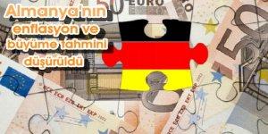 Almanya'nın enflasyon ve büyüme tahmini düşürüldü