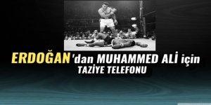 Cumhurbaşkanı Erdoğan'dan Muhammed Ali'nin ailesine taziye telefonu