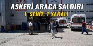 Gümüşhane'de askeri araca silahlı saldırı: 1 Şehit 1 yaralı