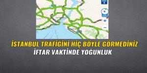 İstanbul trafiği akşam saatlerinde şaşırttı
