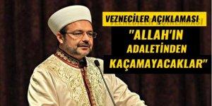 Mehmet Görmez'den 'Vezneciler' açıklaması