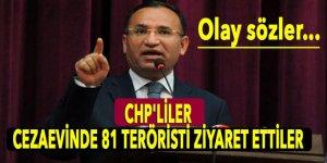 Bozdağ'dan CHP'lilerin terörist ziyaretine ilişkin flaş sözler!