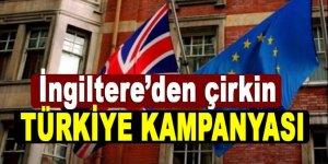 İngiliz basınından çirkin Türkiye kampanyası