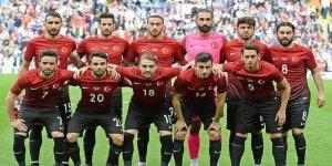 Türkiye-Hırvatistan maçının ilk 11'leri belli oldu