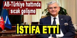 AB'nin Türkiye Büyükelçisi Haber istifa etti