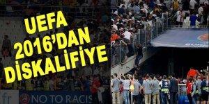 UEFA'dan Rusya'ya ertelenmiş diskalifiye cezası