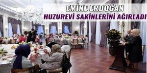 Emine Erdoğan huzurevi sakinlerini ağırladı