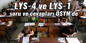 LYS-4 ve LYS-1 soru ve cevapları ÖSYM'de