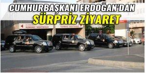 Cumhurbaşkanı Erdoğan'dan hastane ziyareti!