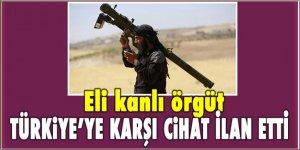 Eli kanlı örgüt, Türkiye'ye karşı cihat ilan etmiş!