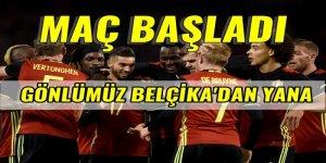 İsveç - Belçika maçının canlı anlatımı