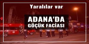 Adana'da göçük faciası